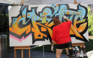 "Crocker Art Museum host a Teen & Youth ""Artfest.""  Music, dance, graffitti art, bands, rap music, hands on crafts and so much more.  All mixed with three hugh floors of top rate exhibits."