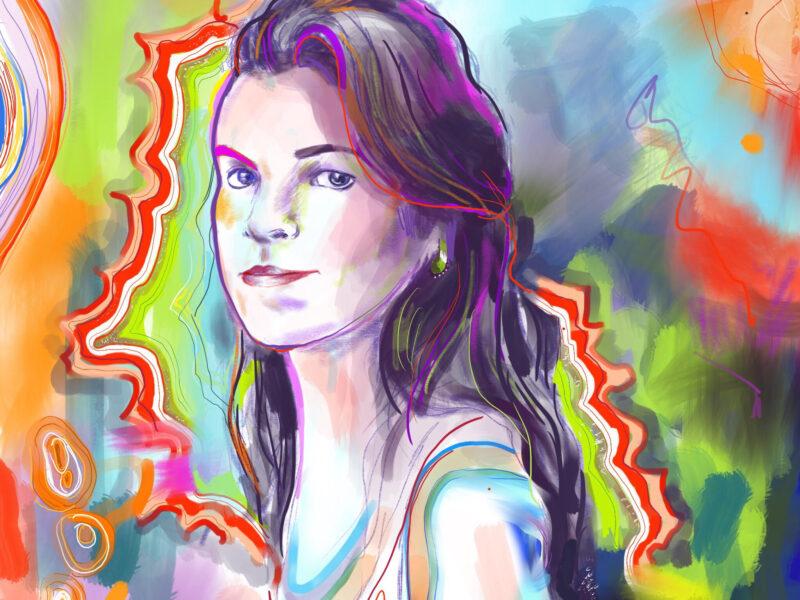 Madeleine Hay Self Portrait